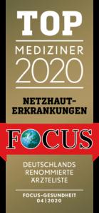 Augenheilkunde | Sankt Gertrauden-Krankenhaus; Netzhauterkrankungen; Focus-Ärzteliste