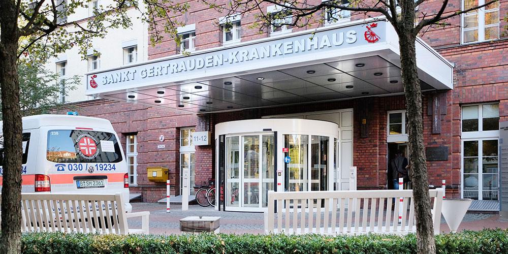 Sankt Gertrauden-Krankenhaus in Berlin Wilmersdorf